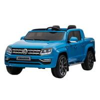 Kool Karz 12v Volkswagen Amarok Two Seater Eletric Ride On Toy Car, Blue