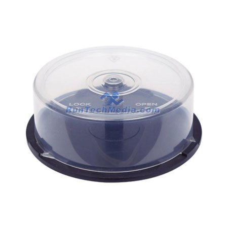 24 PC OF EMPTY CD DVD Blu-ray Disc CAKE BOX Spindle - 25 Disc (Capacity Koskin Cd Dvd)