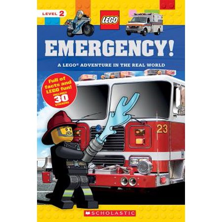 Emergency! (Lego Nonfiction) : A Lego Adventure in the Real (The Business Welcome To The Real World)