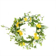 Northlight Seasonal 24'' Field Daisy, Blossom and Berry Artificial Floral Wreath