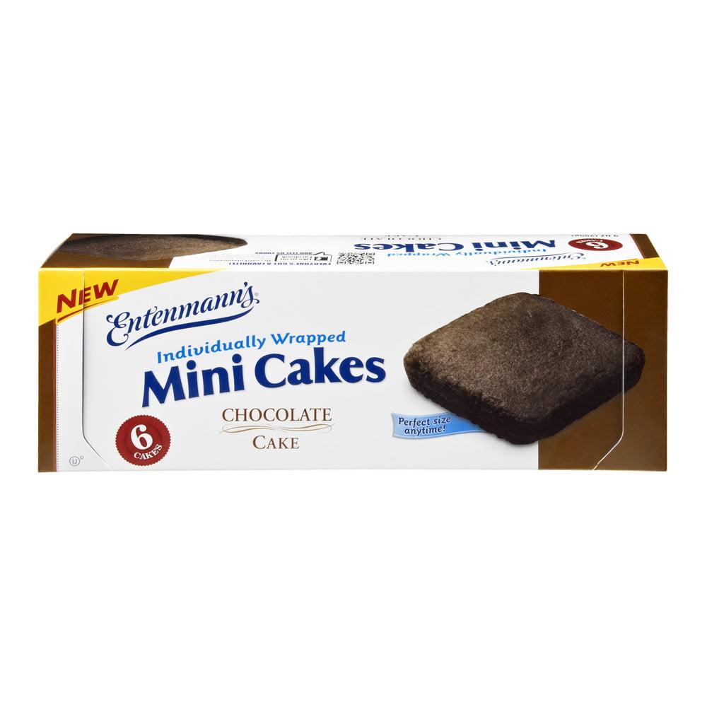 Entenmann's Chocolate Mini Cakes - 6 CT