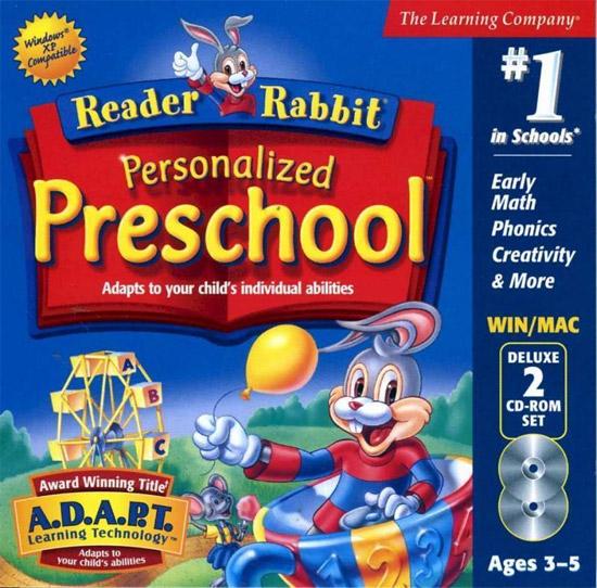 Reader Rabbit Personalized Preschool Deluxe for Windows/Mac
