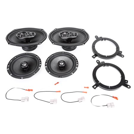 1995-2000 Chrysler Cirrus Complete Factory Replacement Speaker Package by Skar Audio Chrysler Cirrus Fender Replacement
