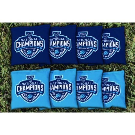 Villanova Wildcats 2016 NCAA Men's Basketball Champions Cornhole Kernel-Filled Bag Set - No Size