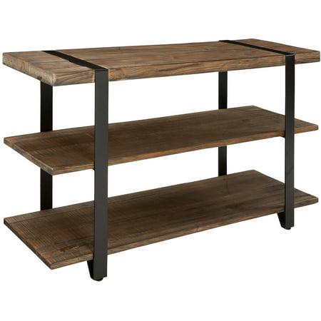 48u0022 Modesto Wide TV Stand Brown - Alaterre Furniture