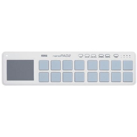 NanoPAD2 Slim-Line USB Drum Pad Controller White