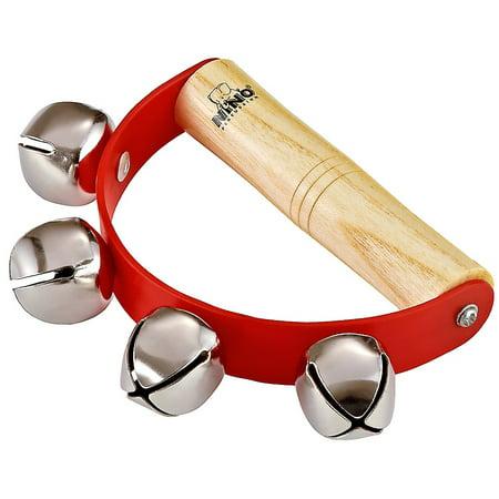 NINO Sleigh Bells w/ Wooden Ergo Grip & 4 Bells Re