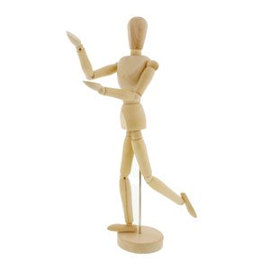 us art supply 5 male manikin wooden art mannequin figure walmart com