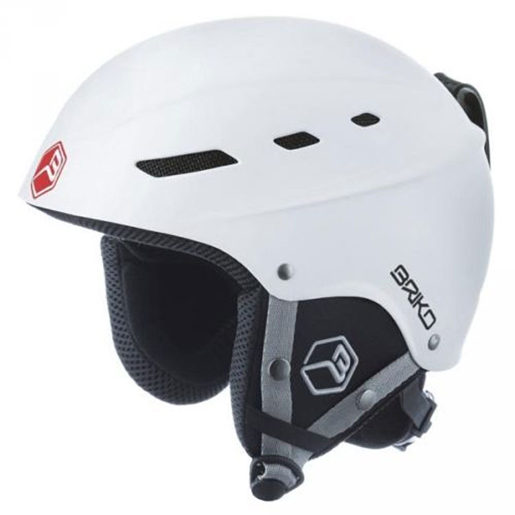 Briko ZBoom MY09 Casco Sci Helmet Matte White Large by SOGEN SPORTS INC.