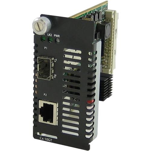 Perle Systems 10 Gigabit Ethernet Managed Media Converter...