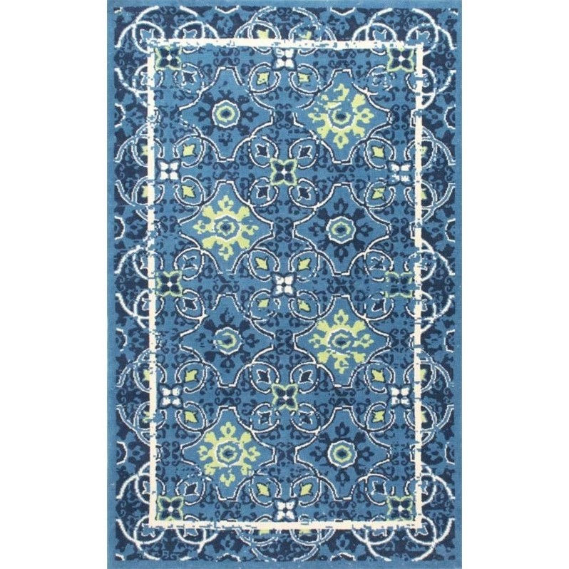 nuLOOM Blue Area Rug