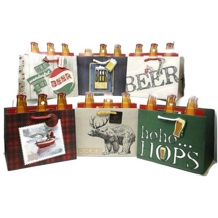 Beer Bottle Gift Bags Novelty Gift Boxes