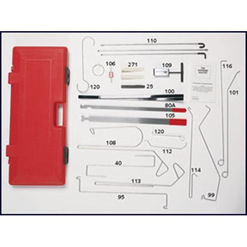 LTI Tools 1000 Grand Master Automotive Lock-Out Tool Kit