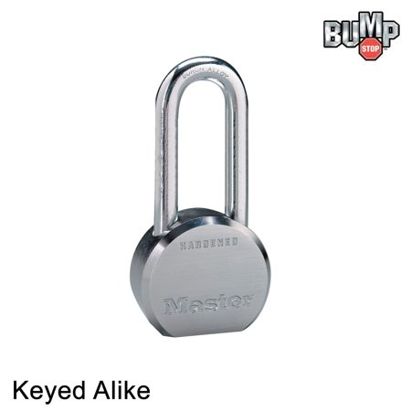 - Master Padlock - 6230NKALH - (1) High Security Lock w/ BumpStop Technology