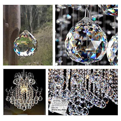 50mm Crystal Pendants Suncatcher Prisms for Crystal Prisms Chandelier Store