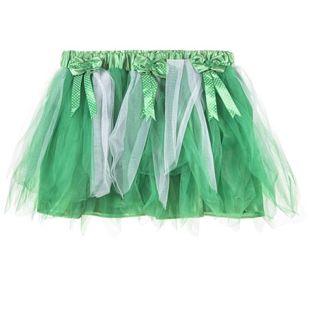 Green & White St. Patrick's Day - Green Tutu