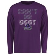 Central Arkansas Bears Youth Can't Be Beat Long Sleeve T-Shirt - Purple