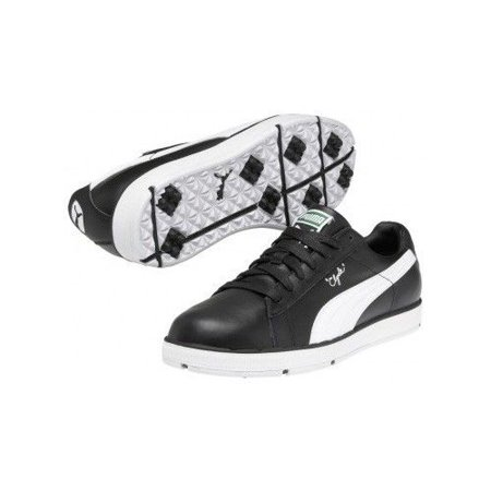 b29b935271a Puma Clyde Golf Shoes - Black   White - Walmart.com