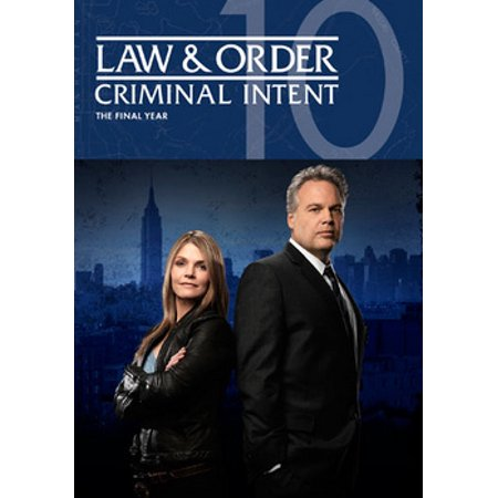 Law & Order: Criminal Intent - Season 10 (DVD) (Law And Order Criminal Intent Intro Words)