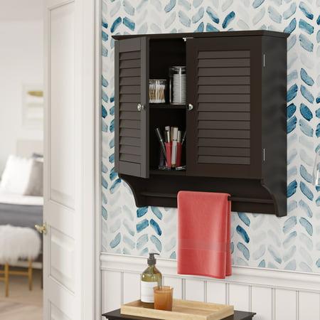 RiverRidge Ellsworth Collection - 2-Door Wall Cabinet - Espresso