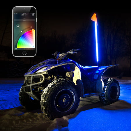 1x Whip Standard XKchrome App Control LED Light Kit for Offroad UTV (Utv Controls)