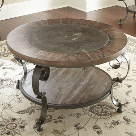 Mulberry Round Cocktail Table Walmart Com