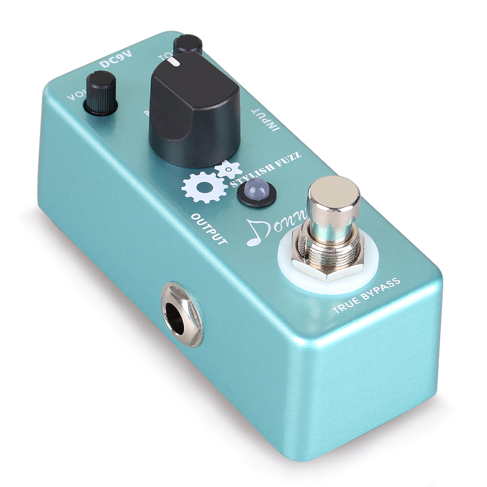 Donner Guitar Stylish Fuzz Traditional Rich,Aluminium-alloy Classic Effects Pedal by