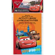 Disney Cars A-Countivity Book Party Favors, 4-Count