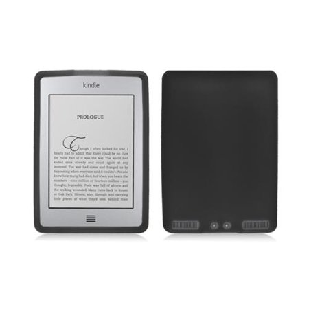 Black Silicone Case Cover for Kindle Touch 4th Gen
