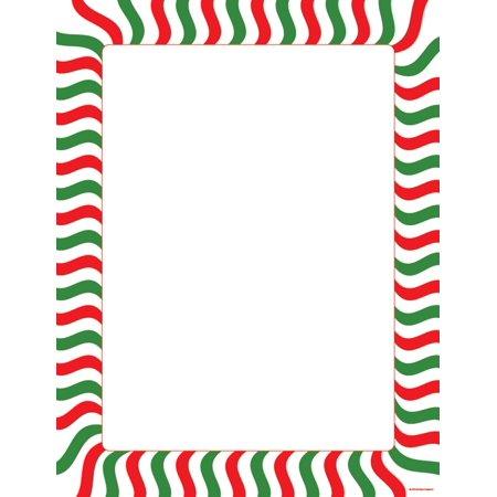 - Designer Paper - Peppermint Stripe (50 Sheet Package)