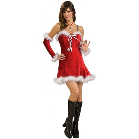 Sexy Santa Baby Red Christmas Dress Adult - Baby Costumes Adults