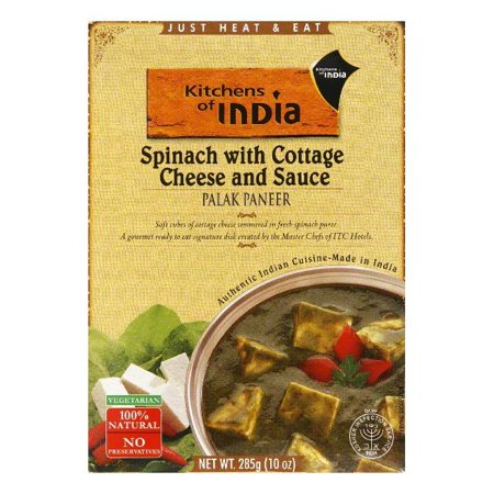 Kitchens Of India Palek Paneer, 10 OZ (Pack of 6)