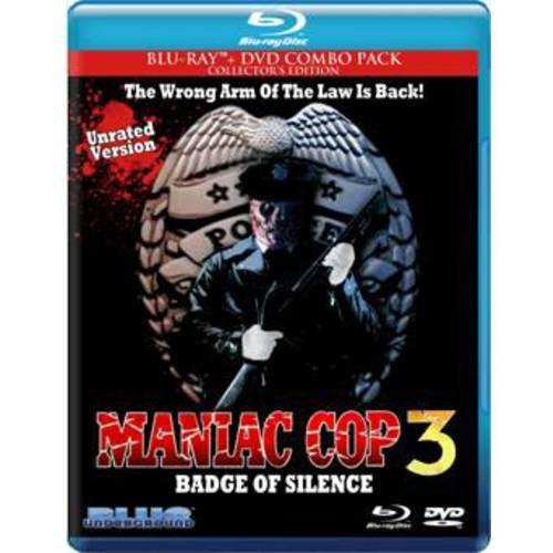 Maniac Cop 3: Badge Of Silence (Blu-ray + DVD)