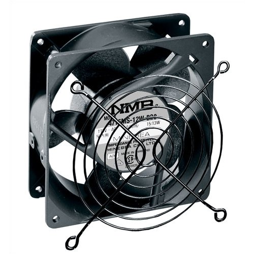 Middle Atlantic 4-1 2'' Quiet Fan with Guard by Middle Atlantic