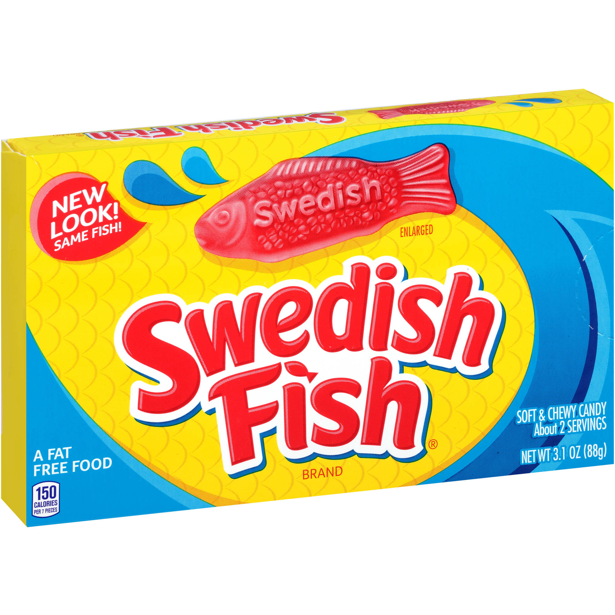 Swedish Fish Soft & Chewy Candy, 3.1 oz