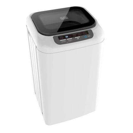 Black + Decker 0.84 Cu. Foot Portable Dorm Apartment Mini Washing Machine,