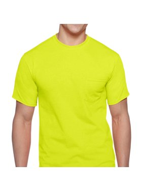 Men's Workwear Short Sleeve High Visibility Crew, 2-Pack
