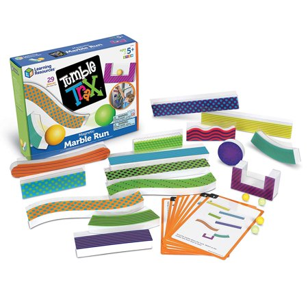 Tumble Trax Magnetic Marble Run, STEM Toy, 28 Piece Set, Ages 5+ Learning Resources](Magnetic Marbles)