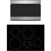 Best Kitchen Appliance Packages - Sharp 2 Piece Kitchen Appliance Package SDH3042DB 30 Review
