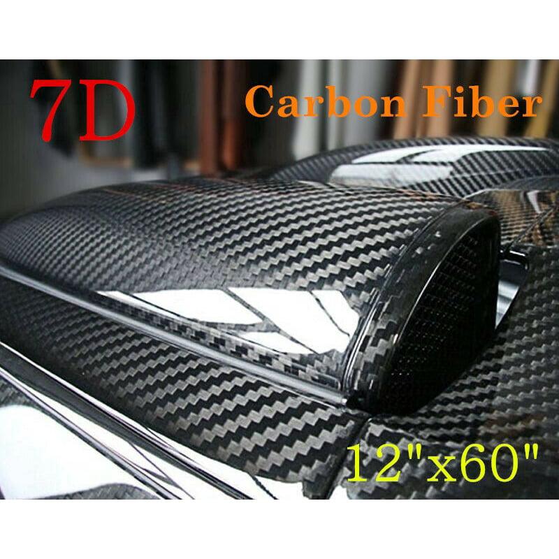 30 x 152 cm Film carbone NewL Structure 3D Autocollant