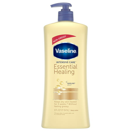Vaseline Intensive Care Essential Healing Body Lotion, 32 (Doctor Clear Lightening Care Body Lotion Reviews)