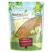 Best Flaxseeds - Food To Live ® Certified Organic Whole Golden Review