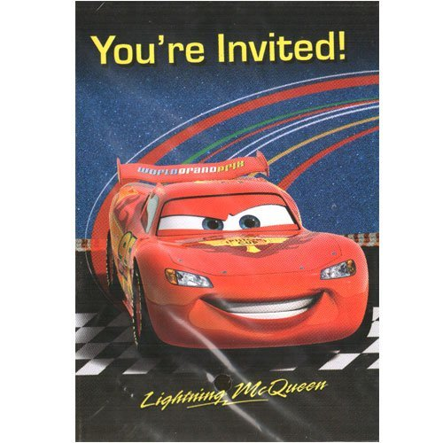 Disney-Pixar Cars 2 Invites-8 ct