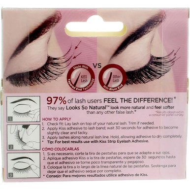 056251c9dab KISS Looks So Natural Lashes, Shy - Best Makeup Restock