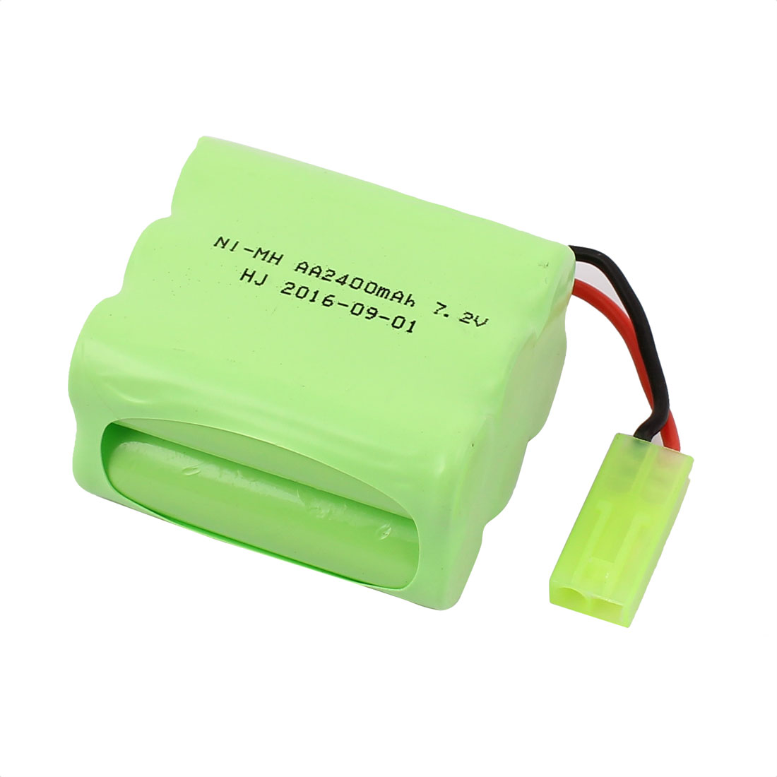 Unique Bargains DC 7.2V 2400mAh Rechargable Ni-MH AA Battery Set for RC Toy Aircraft