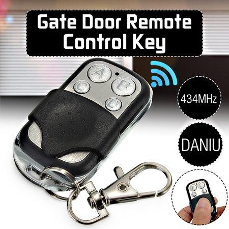 - ABCD 4 Channel Electric Universal Gate Garage Door Remote Key Control Key Fob Transmitter 270MHz~434MHz Cloning Transmitt Key Fob