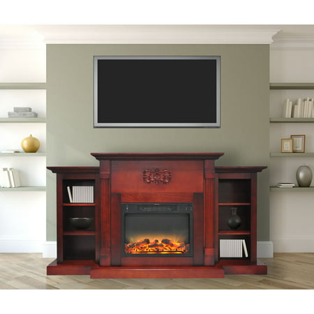 Cambridge Sanoma Electric Fireplace Heater with 72