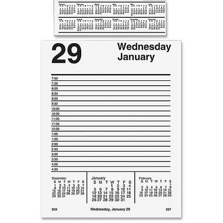 At-A-Glance Pad Base Desk Calendar