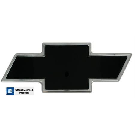 ALL SALES 96195KC 07-13 SILVERADO FRONT CHEVY BOWTIE GRILLE EMBLEM - BLACK/CHROME