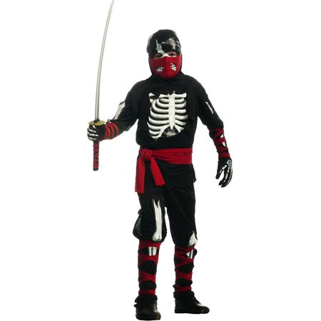 One Dead Ninja Kids Costume